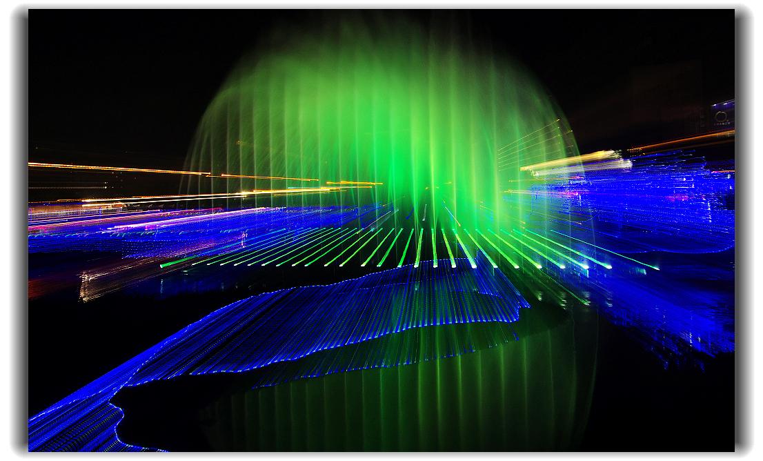 幻彩水舞鐳射燈光秀