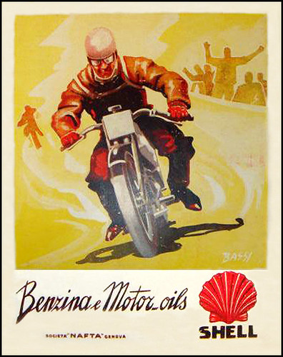 1931 Shell Oil Moto Italia by bullittmcqueen