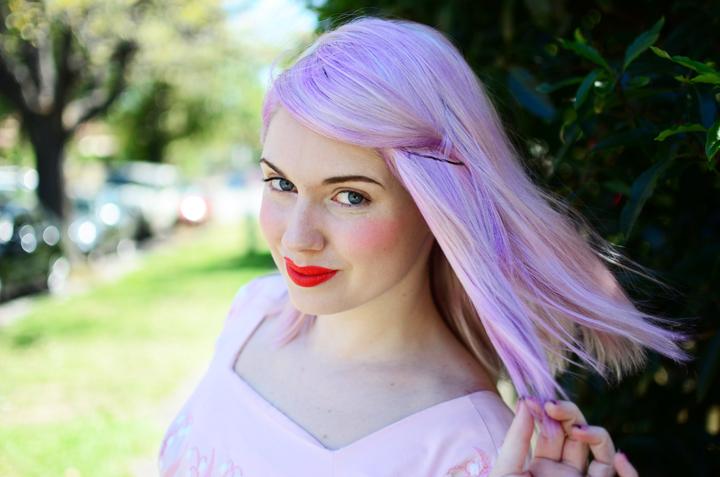 pink purple a