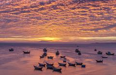 Sunset Illuminated Clouds