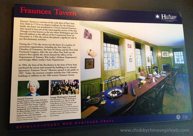 fraunces tavern - history - revolutionary war heritage trail