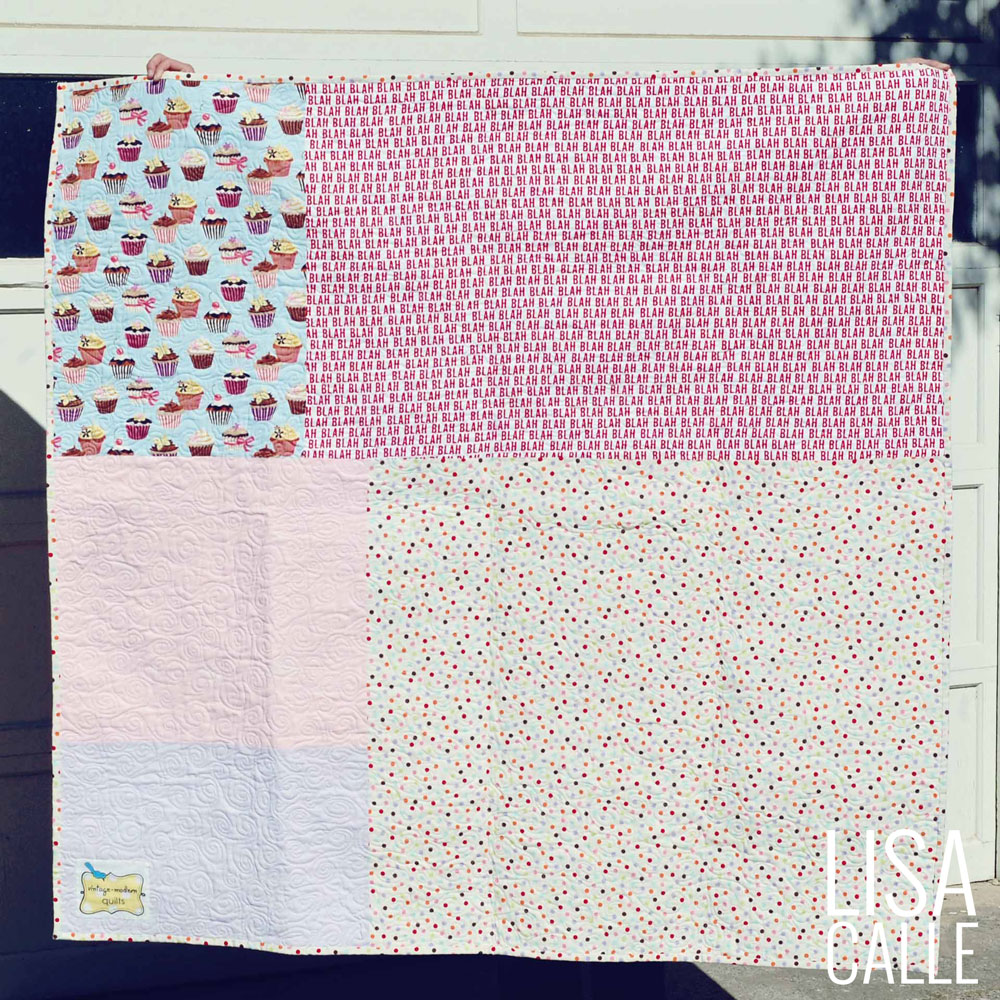 Cotton Candy Quilt | Backing