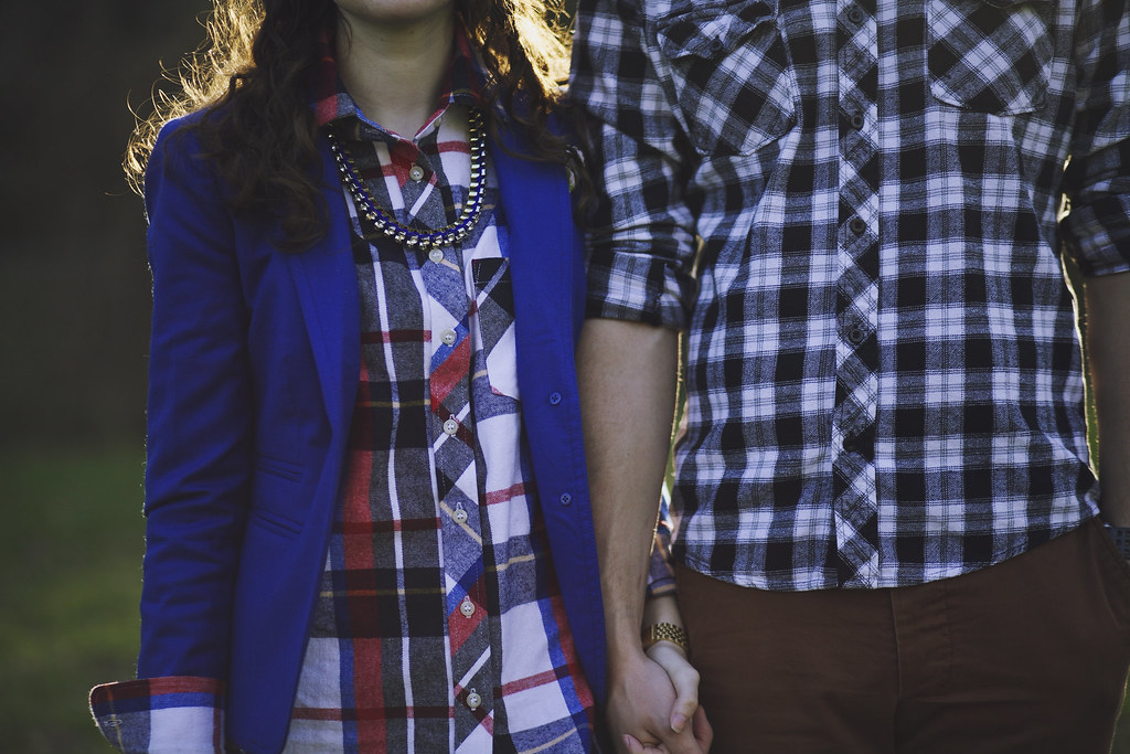 triple thread his hers flannel shirts featuring