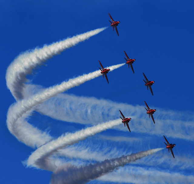 Red Arrows (Explored 16/03/2013)