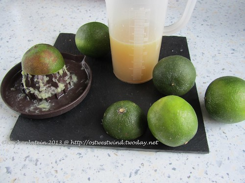 Making of Lime Curd (1)