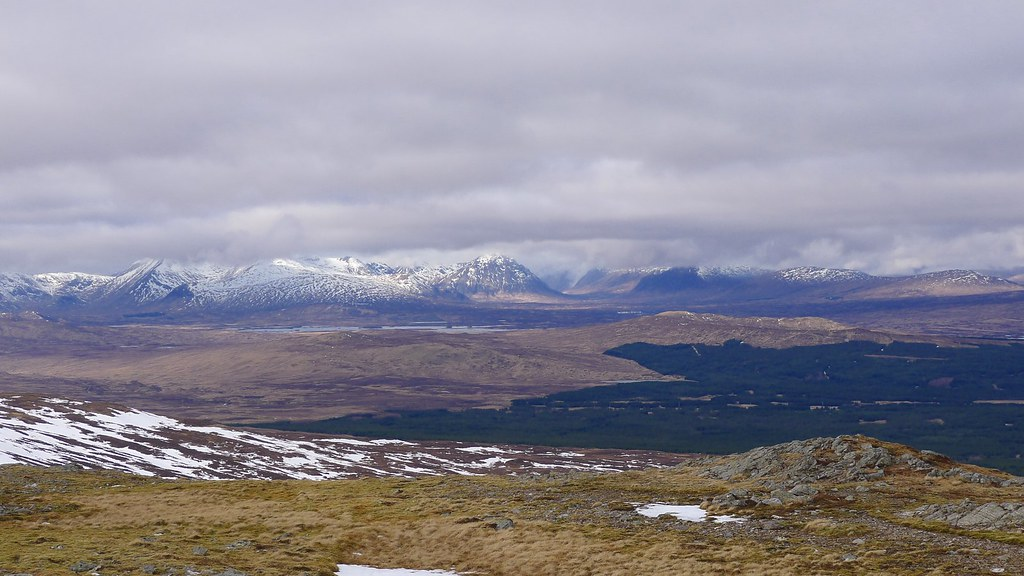 Black Mount and Glencoe