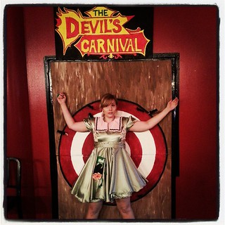 Being #Tamara at #devilscarnival and #repoopera double feature!! #hail #testify #cosplay