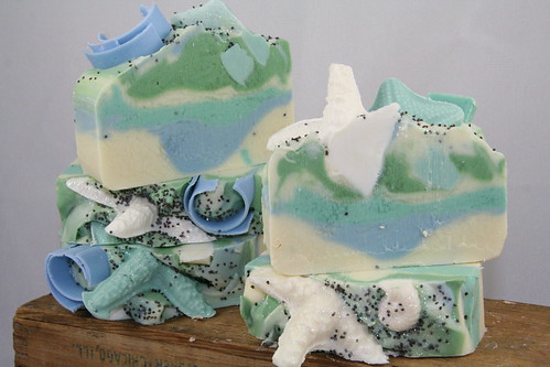 Tropical Waters Seashell Soap - The Daily Scrub (Mar 2013)
