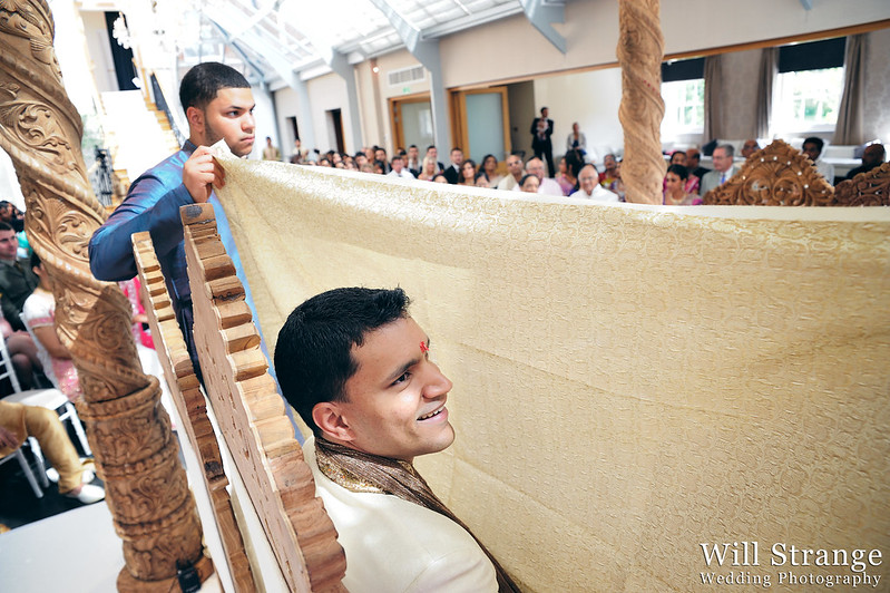 Claudio behind a veil