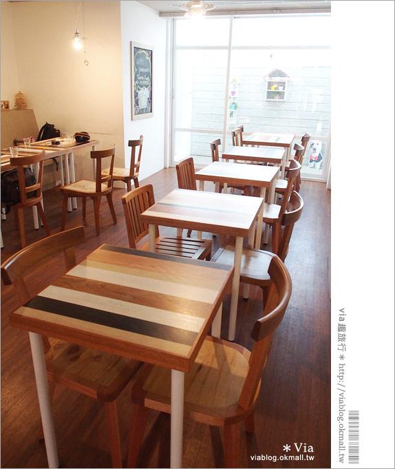 【台中咖啡廳】台中甜點推薦~小梗甜點咖啡!超好吃的季節&每日限定草莓千層!16