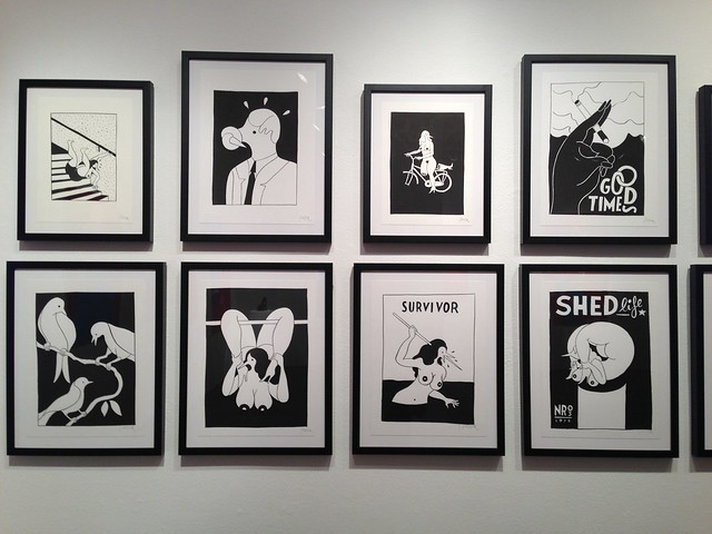 Parra Show @johnathan Levine Gallery