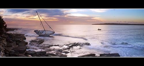 panorama seascape clouds sunrise canon focus rocks tripod sydney australia panoramic lee nsw newsouthwales filters cronulla sutherlandshire cs5 leefilters