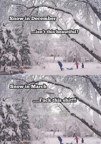 snow dec or mar