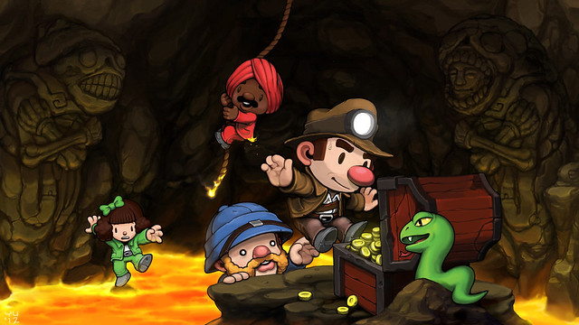 Spelunky on PSN