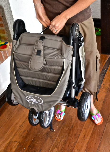quick fold stroller
