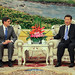 US Treasury Department: Secretary Lew speaks with China's President Xi Jinping during their meeting at the Great Hall of the People in Beijing on Tuesday, March 19, 2013. (Monday Mar 25, 2013, 10:56 AM)