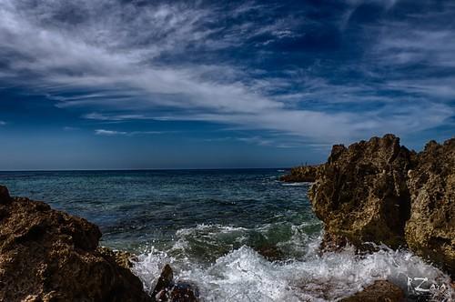 water coast cuba shoreline caribbean russ santiagodecuba zara sonyslta77v russzara rzara