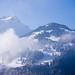 Autour du chalet, montagnes d'en face by Stephanie Booth