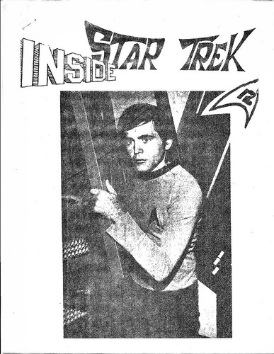 """Inside Star Trek"" Issue Number 12 Cover"