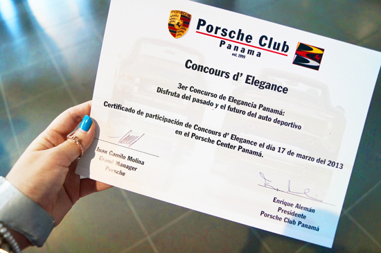 Porsche Car Event