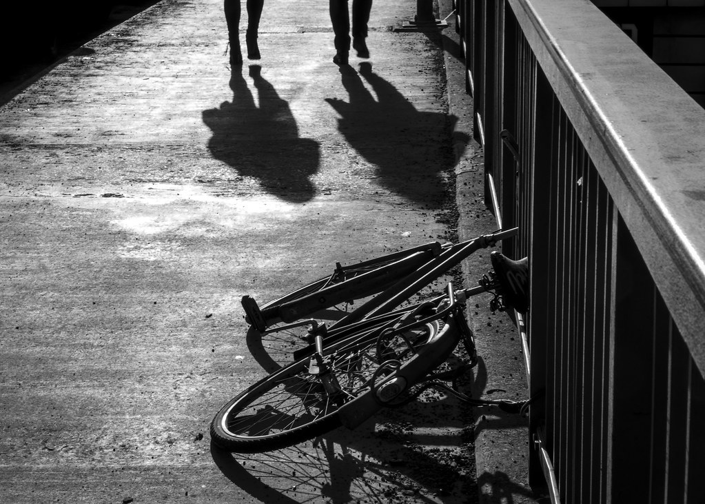Morning has broken, street photography, black and white