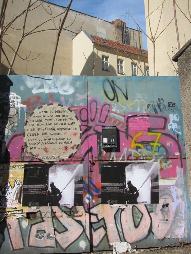 Berlin grafitti fem
