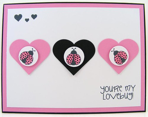 SOL April Lovebugs Card