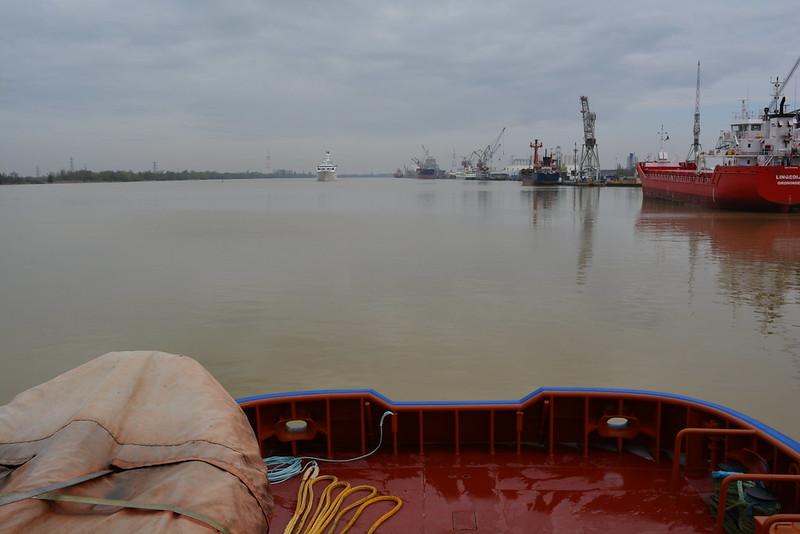 A bord du remorqueur RM MEDOC - 1er avril 2013