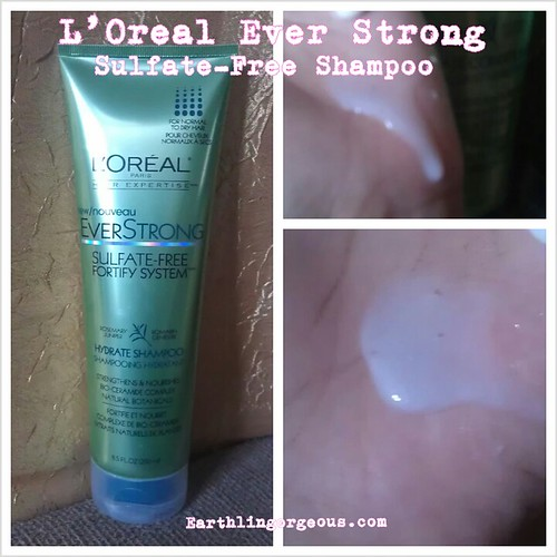 L'Oreal Paris EverStrong Sulfate-Free Fortify System Hair Care ...