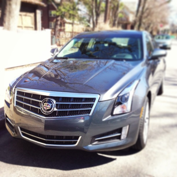 Cadillac ATS is here for my test drive. http://disclosur.es/9ROsJA