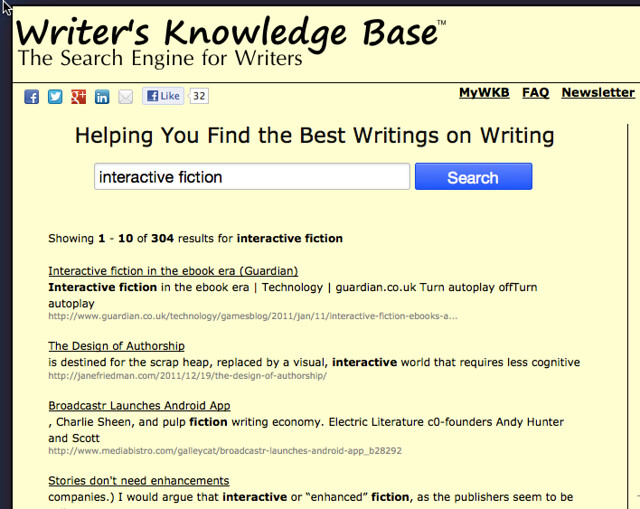 writers knowledge base