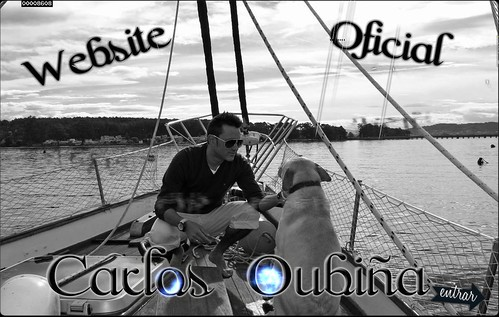 Website oficial Carlos Oubiña 2013 - foto