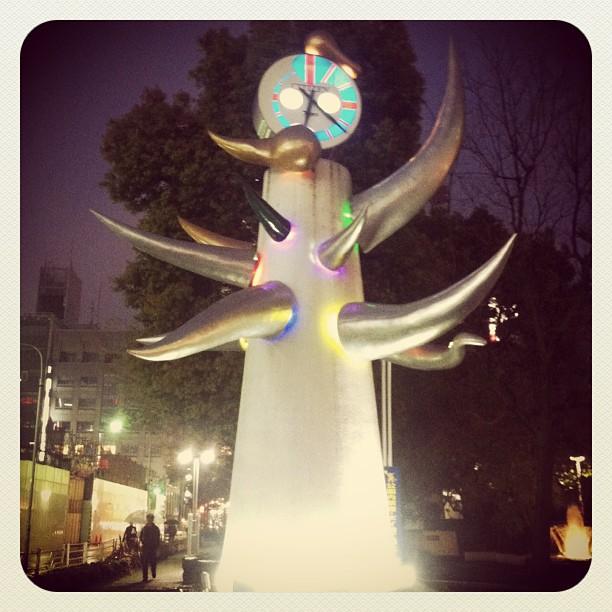 Taro Okamoto's creation @ Ginza, Japan #tokyo #ichigonewjourney #tarookamoto