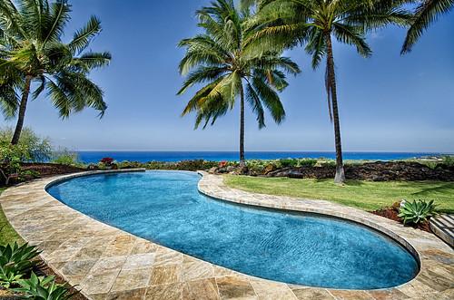pool hawaii realestate kailuakona oceanviews luxuryhomes realestatephotography nikond7000 hawaiianvirtualtours