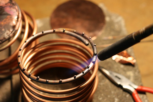 Soldering Copper / The Making Of A Copper Orchid Pot