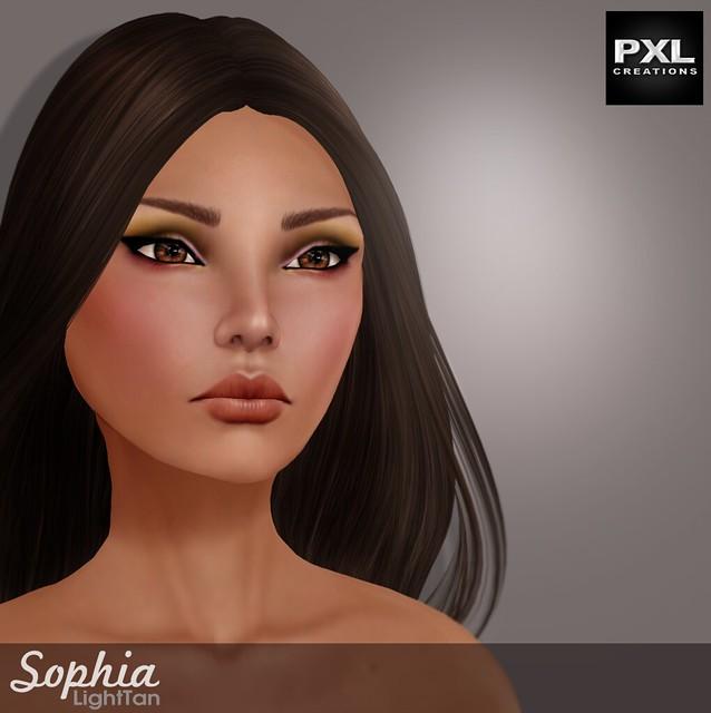 [PXL] Sophia LightTan AD