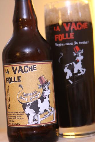 MicroBrasserie Charlevoix La Vache Folle Imperial Milk Stout
