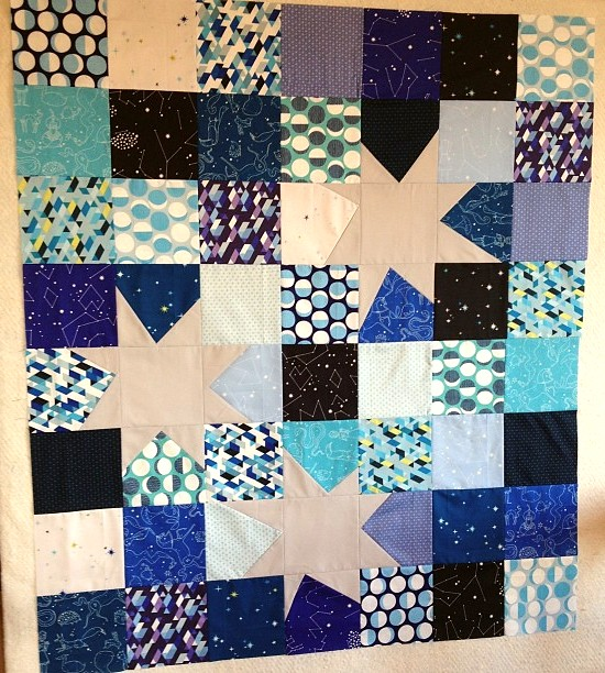 Constellations quilt top...check.