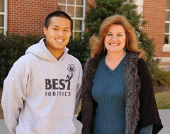Mary Lou Ewald and TJ Nguyen