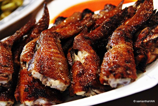 BBQ Chicken Wings @ Pasir Panjang Food Centre
