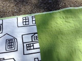 back of Mommy Neighborhood quilt