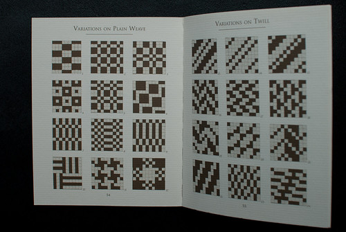 "Drafts from ""Weaving: Methods, Patterns & Traditions of an ancient art"" by Christina Martin"