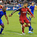 Marvell Wynne (Rapids), Hendry Thomas (Rapids), Alvaro Saborio (RSL), Colorado Rapids vs Real Salt Lake Apr. 6th 2013