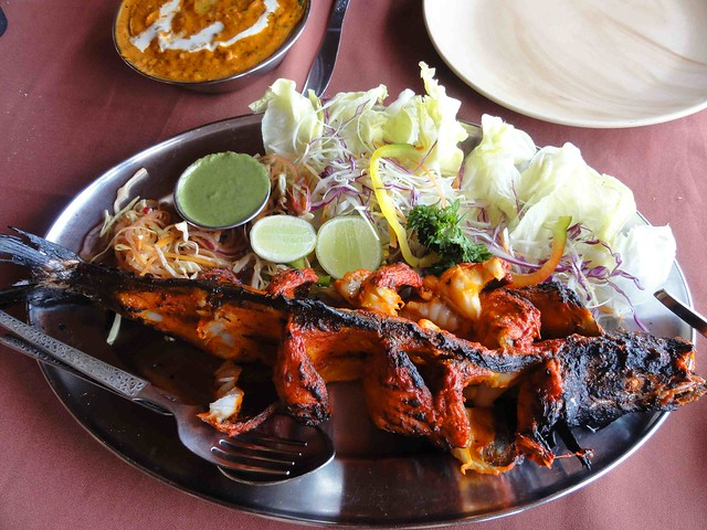 Best Tandoori King Fish Ever! at Souza Lobo