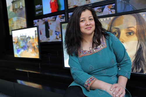 Irna Qureshi - curator of our Bollywood Icons exhibition and BIFF special guest