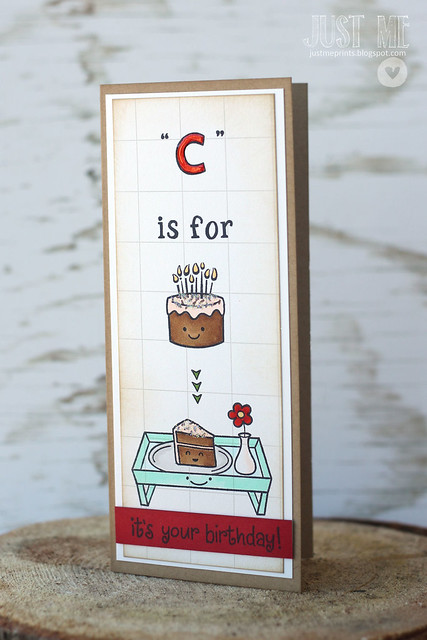 """c"" is for cake."