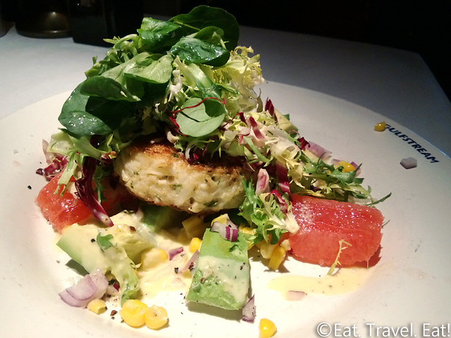 Gulfstream-Los Angeles (Century City), CA: Crabcake Salad