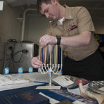 USS Dwight D. Eisenhower remembers the Holocaust.