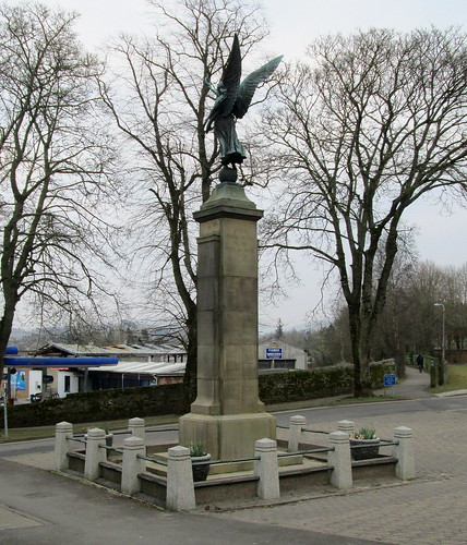 Cockermouth War Memorial Reverse View