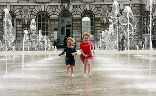 Somerset House Fountain 4